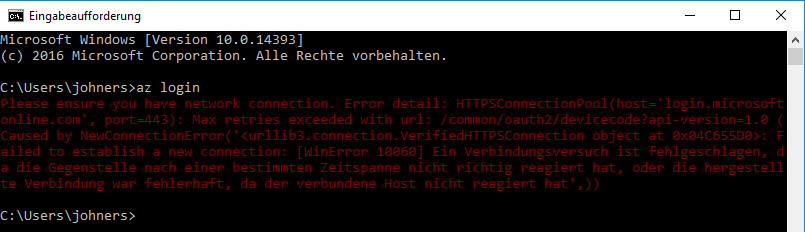 Use Azure CLI 2 0 behind corporate proxy server · Stefan Johner